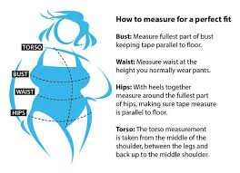 Size Chart For Women S Bathing Suits Womens Size Chart How To Measure Your Body Ladies Size