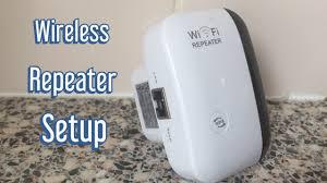 <b>Wireless</b> N <b>Wifi Repeater</b>/ <b>WiFi Extender</b> Router Setup/ WIFi Set up ...
