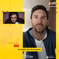 Goal - Lay's Messi Messages