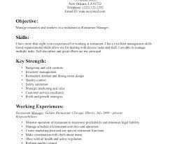Duties Cashier Resumes Objective For Resume Templates Top Template