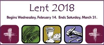 Image result for lent 2018