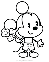 Coloring Pages Disney Cuties Inspirational Shapes Luxury Mouse Free