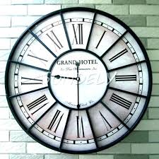 large outdoor clock with thermometer outside clocks garden extra large outdoor clocks garden clocks large large