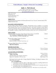Example Accounting Resumes Entry Level Resume Example Entry Level Accounting Resume Sample 76