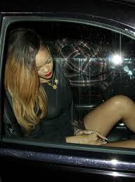 Rihanna See Through Dress Revealing Nipples And Pierced Nipple.