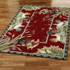 Rooster Area Rugs Kitchen Kitchen Rooster Kitchen Rugs Intended For Elegant Accent Rooster