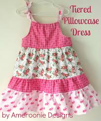 Pillowcase Dress Pattern Simple Tiered Pillowcase Dress Tutorial The Polka Dot Chair