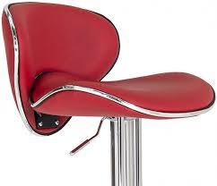 red leather bar stools. Vida Living Nigella Red Leather Bar Stool Stools O
