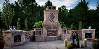 outdoor fireplace designs Patio Traditional with candle candle