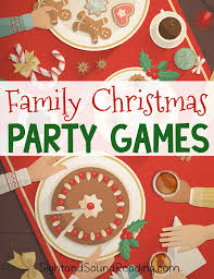 Fun Family Party Games! | Christmas party games, Family christmas ...