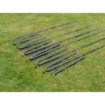 8u0027 ultra deer fence posts with sleeves 7 pack deer fence posts85