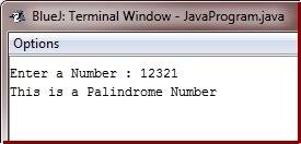 In this section, you will learn about the palindrome number and how to determine any number is palindrome or not. Java Program To Check Palindrome Or Not