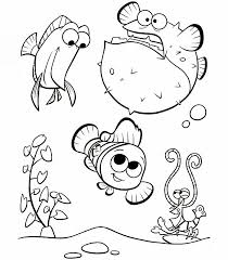 Immagini Da Stampare E Da Colorare Alla Ricerca Di Nemo Disegni Da