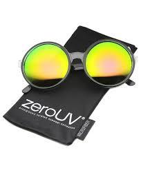 zerouv oversize transpa colored sunglasses
