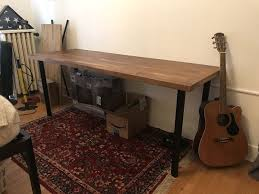 desk ikea karlby countertop