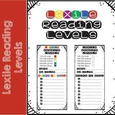 Lexile Leveled Reading Bookmarks Are A Great Way For Your