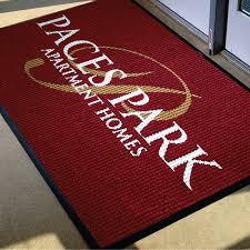 waterhog logo inlay custom mats