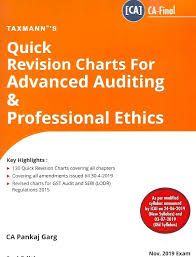 Pankaj Garg Audit Charts Nov 2018 Ca Final Advanced Auditing Quick Revision Charts Pankaj Garg