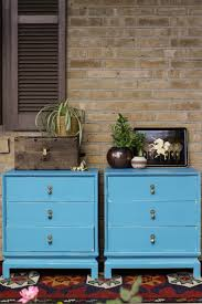 makeover furniture. Turquoise Asian Nightstands Makeover Furniture