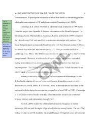 Sample Apa Paper Sample Apa Literature Review By The Online Writing Lab