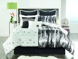 12 photos gallery of black and white bed sets for a candid awakening