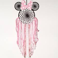 Minnie Mouse Dream Catcher Cool Minnie Mouse Minnie Mouse Nursery Pink Dreamcatcher For Etsy