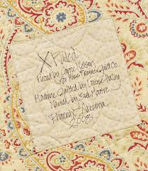 How to label a quilt: 7 ideas from popular authors - Stitch This ... & Quilt label from Carrie Nelson Adamdwight.com