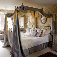 Stylish Beds With Curtains and 15 Amazing Canopy Bed Curtains Design Ideas  Rilane
