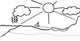 Small Picture Simple Water Cycle Coloring Sheet Pa gco Coloring Home