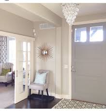 Image Lovely Inside Front Door Color Elephant Skin By Behr Sliding French Doors Pinterest Inside Front Door Color Elephant Skin By Behr Sliding French Doors
