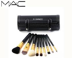 home accessories mac makeup brushes kit 9pcs