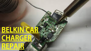 Belkin <b>Car Charger</b> Repair - YouTube