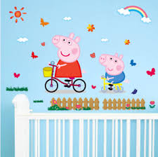 peppa pig wall art