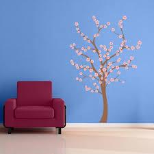 nursery cherry blossom tree wall decal