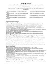 Property Leasing Manager Resume Sample Resume For Property Manager