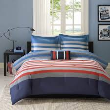mizone kyle red blue the home decorating company red and blue bedding