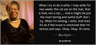 being funny is tough a angelou style of writing she was known for her award winning autobiographies as well as for her numerous plays scripts poems and essays