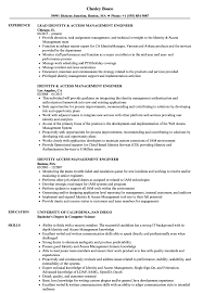Sample Access Management Resume Identity Access Management Engineer Resume Samples Velvet Jobs 9