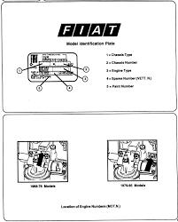 fiat parts model identification