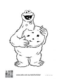 Cookie Monster Coloring Sheets Lovely Monster Coloring Pages Giant