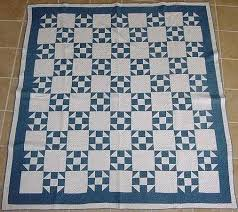 92 best Shoofly Quilt Gallery images on Pinterest | Projects ... & Repro Quilt Lover: Blue and White quilts Adamdwight.com
