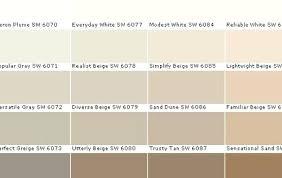 Beige Color Chart Beige Color Chart Paintingcanvas Info