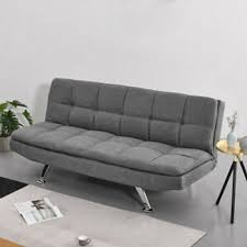 3 seater padded seat sofa bed couch
