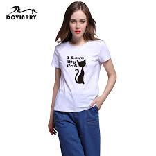 plus size women tumblr dovinrry t shirt women white letters t shirt female brand clothing