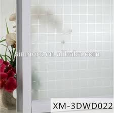Small Picture 3dwd022 Square Removable Window Decal StickerSelf Adhesive Home
