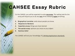 how to write a strong essay body cahsee essay examples