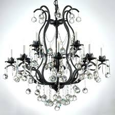 black crystal chandeliers black wrought iron crystal chandelier black crystal chandelier uk