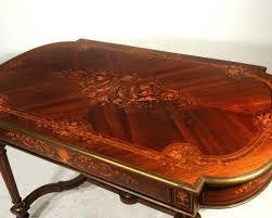 antique inlaid wood furniture nailhead inlay coffee table 9474 1346804