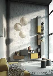 modern italian living room furniture. italian furniture wall units system with a vintage flair using recycled material reconditioned high end modern living room