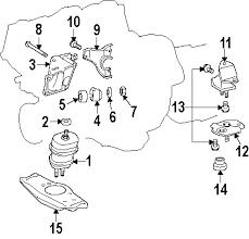 parts com® lexus ls460 engine trans mounting oem parts 2009 lexus ls460 base v8 4 6 liter gas engine trans mounting